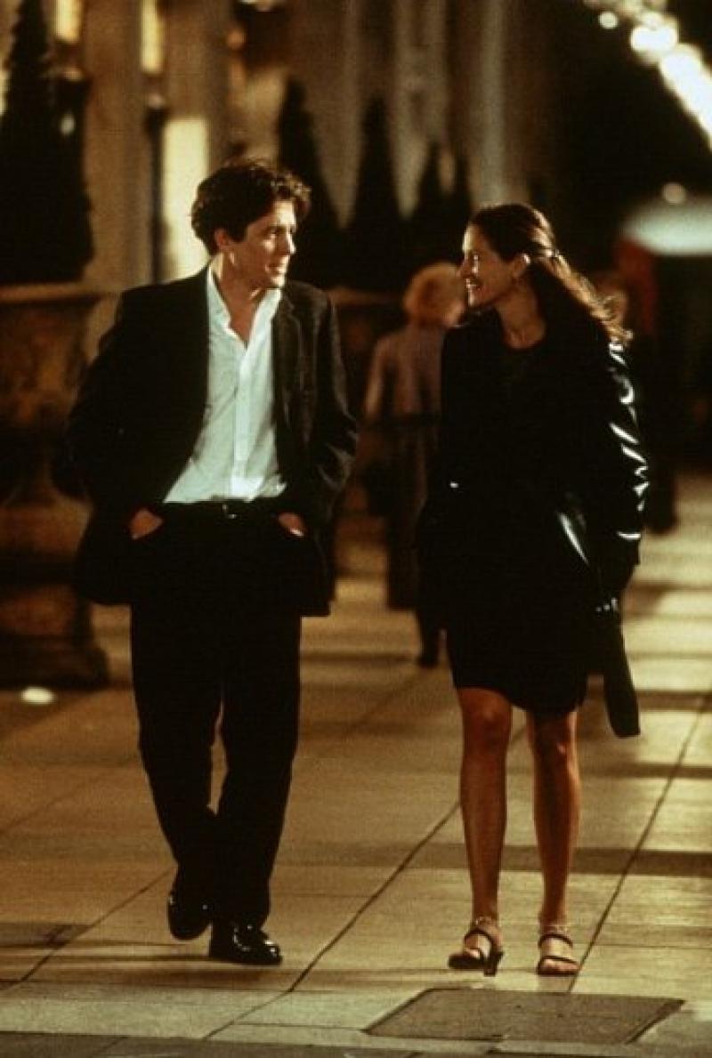 Julia Roberts y Hugh Grant en Un lugar llamado Notting Hill (1999)
