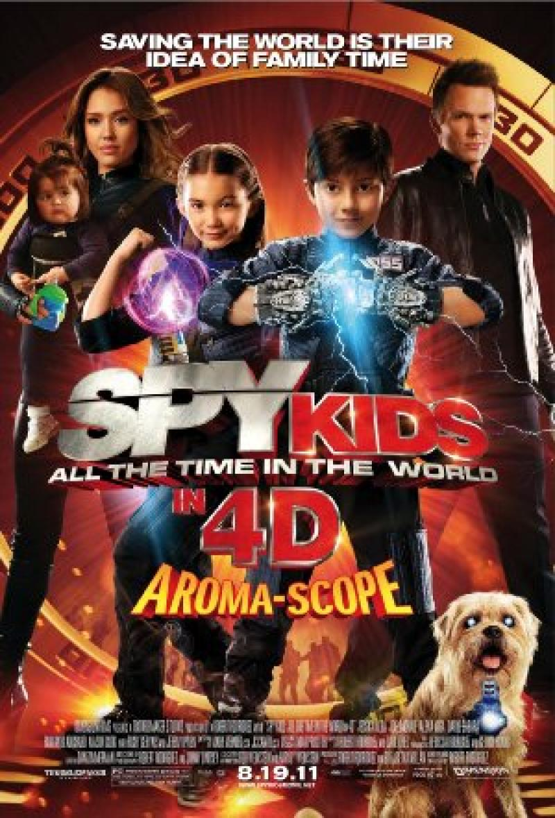 Película Mini Espías 4 Los Ladrones Del Tiempo Spy Kids All The Time In The World In 4d
