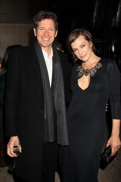 Paul W.S. Anderson y Milla Jovovich