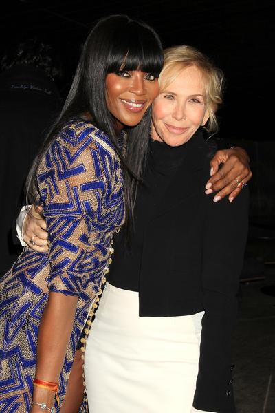 Naomi Campbell y Trudie Styler