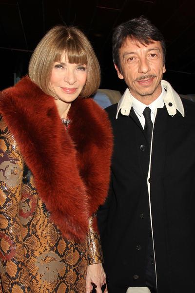 Anna Wintour y Pierpaolo Piccioli