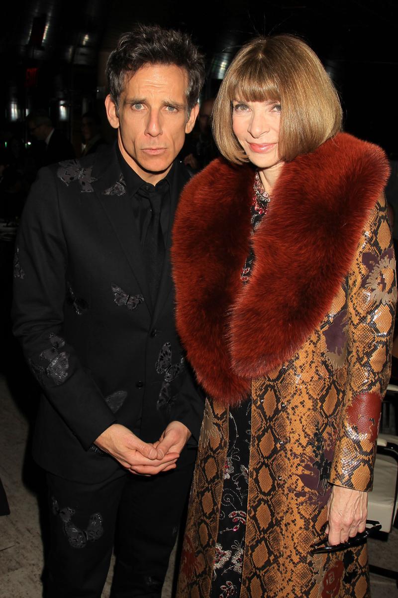 Ben Stiller and Anna Wintour