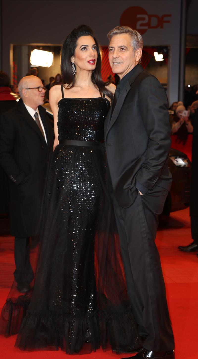 George Clooney en la alfombra roja
