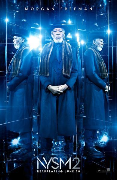 Morgan Freeman en nuevo póster de Los Ilusionistas 2