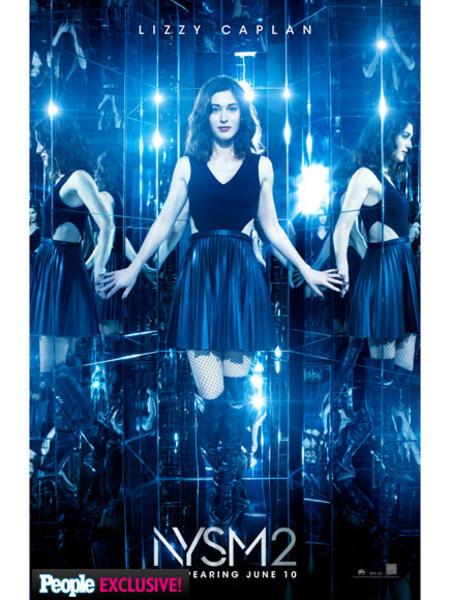Lizzie Caplan en los nuevos pósters de Los Ilusionistas 2