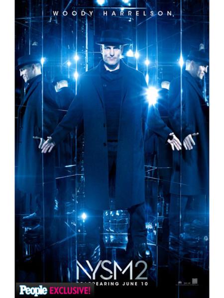 Woody Harrelson en nuevo póster de Los Ilusionistas 2