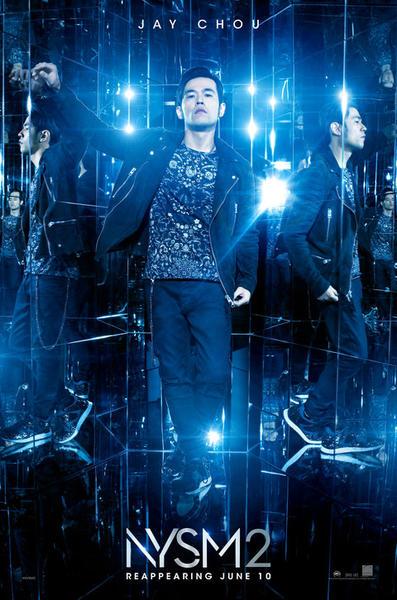 Jay Chou en Los Ilusionistas 2