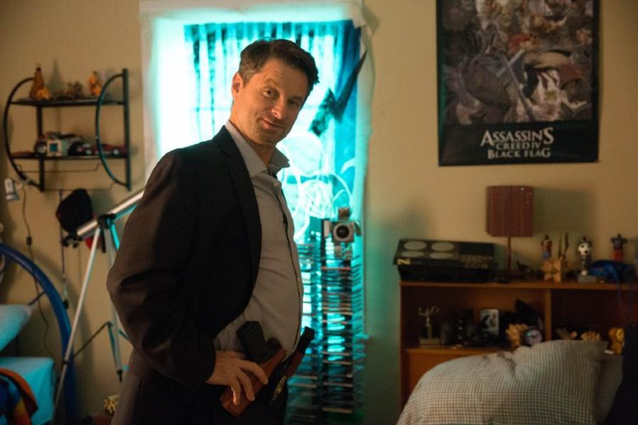El actor Shea Whigham en Lila & Eve (2015)