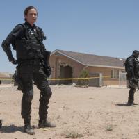Emily Blunt como la agente Kate Macer en Sicario