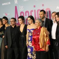 El elenco y el equipo de producción de las Aparicio