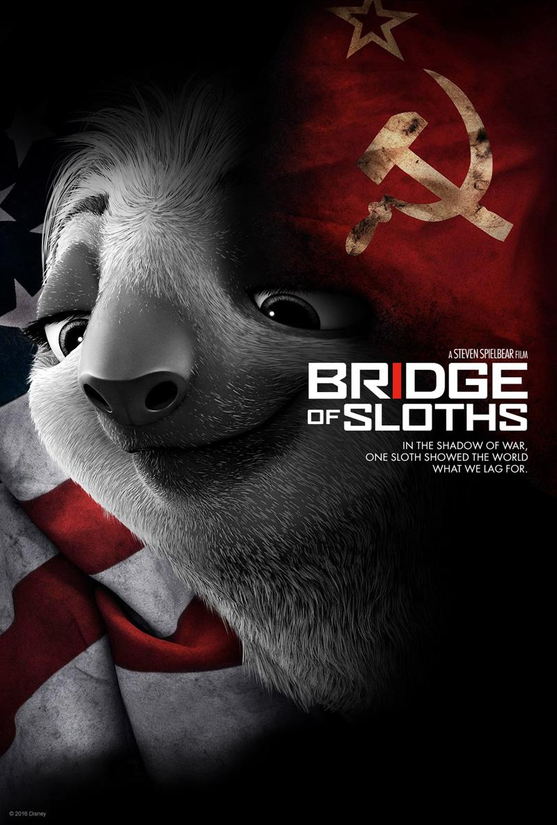 Póster parodia de Puente de Espías