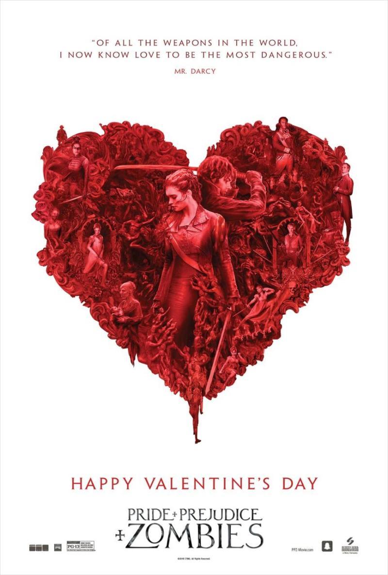 Orgullo, Prejuicio y Zombies - San Valentín