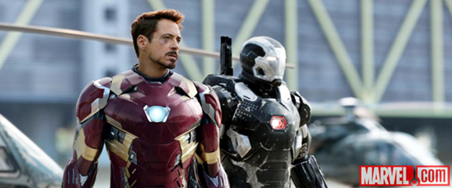Iron Man y War Machine