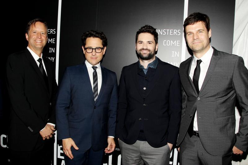 Matt Stuecken, J.J Abrams, Dan Trachtenberg y Josh Campbell