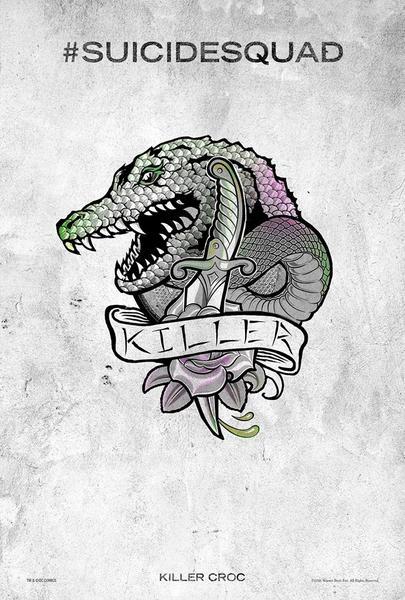 Poster Suicide Squad, Killer Croc, Festival SXSW