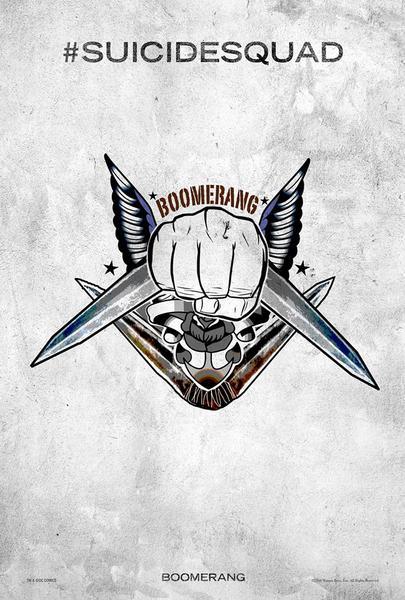 Poster Suicide Squad, Boomerang, Festival SXSW.