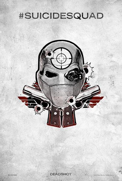 Poster Suicide Squad, Deadshot, Festival SXSW.