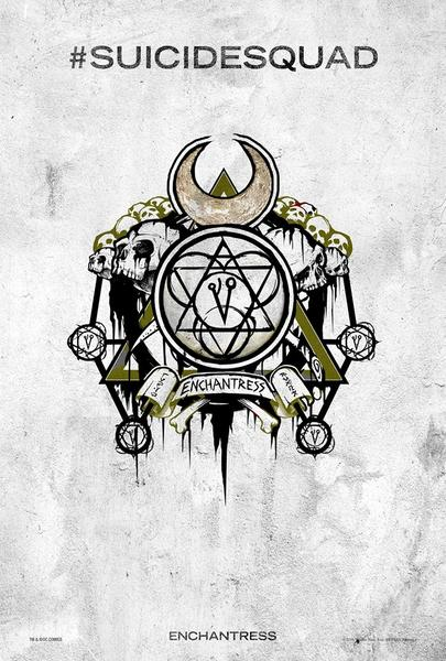Poster Suicide Squad, Enchantress, Festival SXSW.