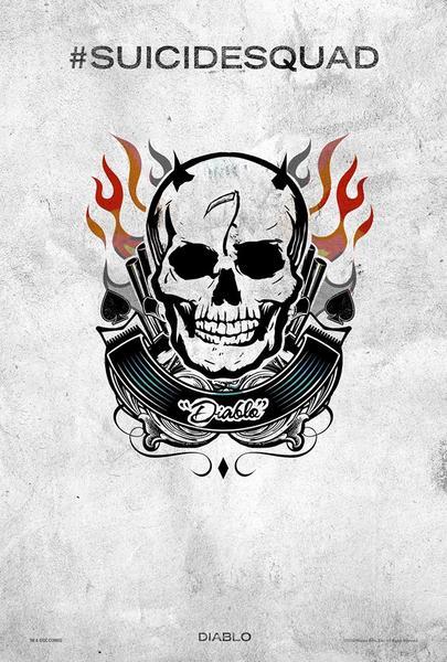 Poster Suicide Squad, Diablo, Festival SXSW.
