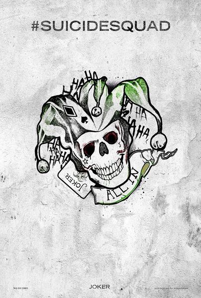 Poster Suicide Squad, Joker, Festival SXSW.