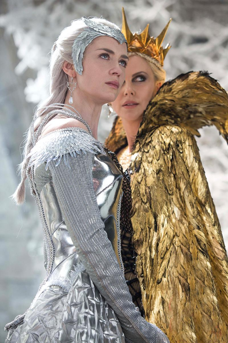 Emily Blunt y Charlize Theron