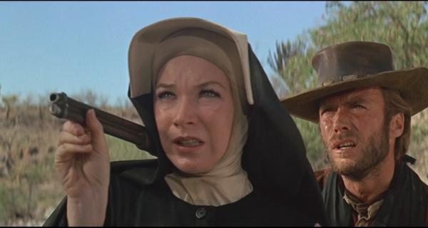 Dos Mulas para la Hermana Sara Trailer