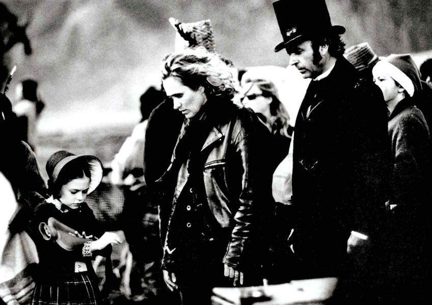 Jane Campion en el rodaje de El Piano (1993)
