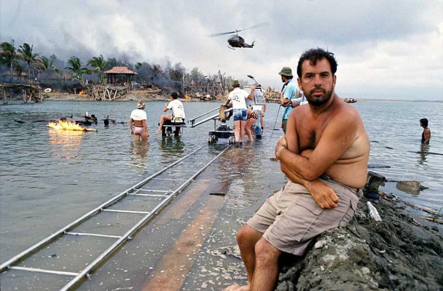 Coppola en el set de Apocalypse Now