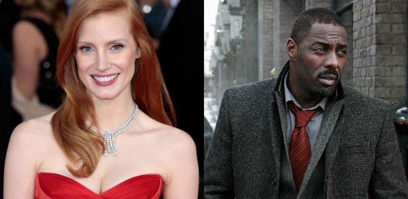Jessica Chastain e Idris Elba protagonizarán película de Aaron Sorkin